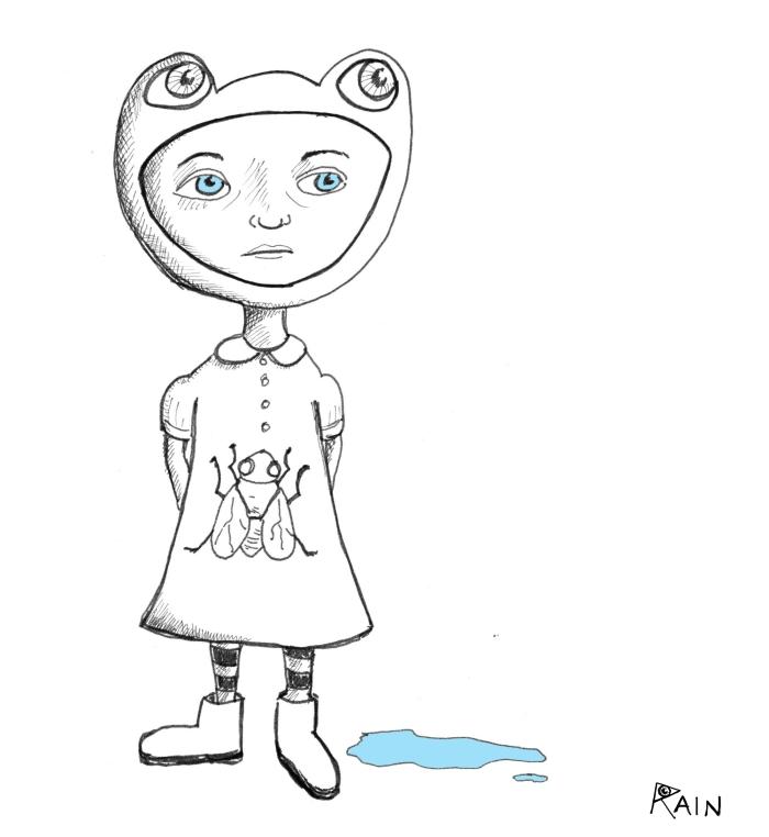 frog-girl